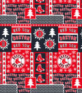 Boston Red Sox Cotton Fabric-Winter