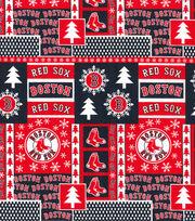 Boston Red Sox Cotton Fabric-Winter, , hi-res