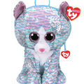 Ty Inc. Fashion Whimsy Reversible Sequin Cat Backpack