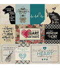 Companions Double-Sided Cardstock 12X12-#8 Dog/Cat 3X4 & 4X6 Cut-Aparts
