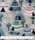 Anti-Pill Plush Fleece Fabric-Tee Pees