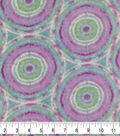 Specialty Luxe Fleece Fabric-Aqua Tie Dye Bursts