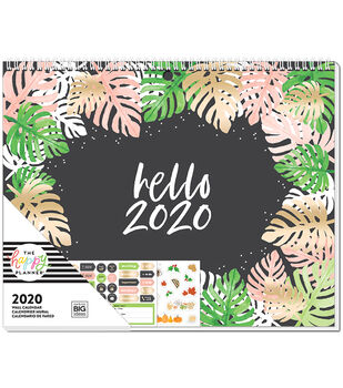 The Happy Planner 2020 Wall Calendar-Seasonal