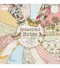 Trimcraft First Edition Botanical Notes Premium Paper Pad 12\u0027\u0027x12\u0027\u0027