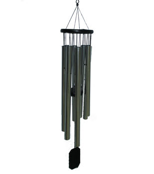 In the Garden Wooden Top Wind Chime