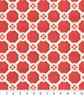 Home Decor 8\u0022x8\u0022 Fabric Swatch-P/K Lifestyles Trellis Caprice Cinnabar
