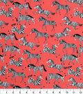 Novelty Cotton Fabric -Zebras