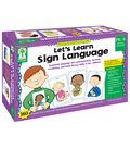 Let\u0027s Learn Sign Language Learning Cards, PreK-Grade 2