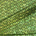 Cosplay by Yaya Han Metallic Scales Fabric -Metallic Lime