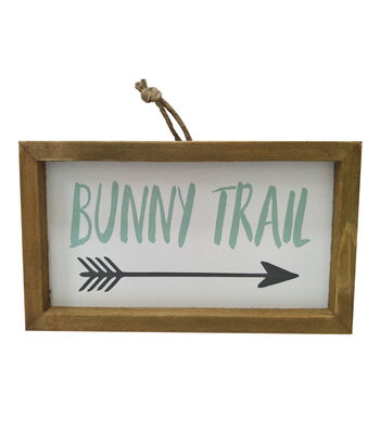 Easter Wall Decor-Bunny Trail