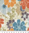 Anti-Pill Fleece Fabric 59\u0022-Rustic Flowers