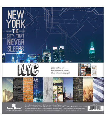 Paper House Paper Crafting Kit-New York City