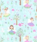 Snuggle Flannel Fabric -Princess Fairies