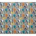 Super Snuggle Flannel Fabric-Pattern Trap Guitars