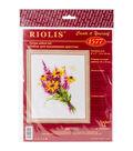 RIOLIS 6\u0027\u0027x7\u0027\u0027 Counted Cross Stitch Kit-Bouquet with Coneflowers