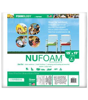 """NuFoam Pad 15""""x17""""x3"""" thick"""