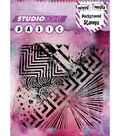 Studio Light Mixed Media 5\u0027\u0027x5\u0027\u0027 Background Stamp-Graphic