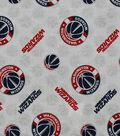 Washington Wizards Cotton Fabric -Logo Toss