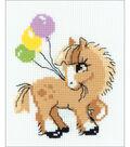RIOLIS Happy Bee 6\u0027\u0027x7\u0027\u0027 Counted Cross Stitch Kit-Pony Crony