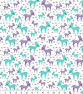 Snuggle Flannel Fabric -Baby Deer