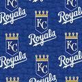Kansas City Royals Cotton Fabric -Logo