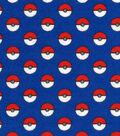 Pokemon Flannel Fabric 44\u0022-Catch Em All