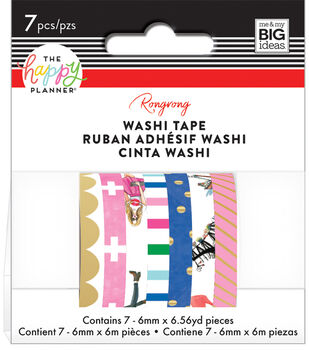 The Happy Planner x Rongrong Washi Tape-Classic