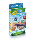 Crayola Air Dry Clay Variety Pack 5pc-Assorted Brights