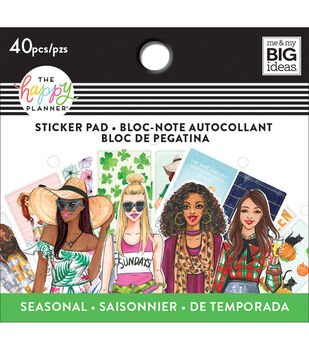 The Happy Planner x RongRong Tiny Sticker Pad-Seasonal