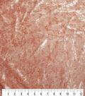 Stretch Panne Velour Fabric 57\u0022-Cameo Brown
