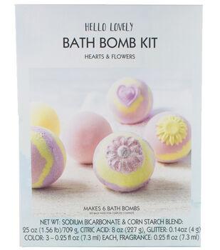 Hello Lovely Bath Bomb Kit-Hearts & Flowers