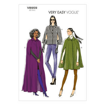 McCall's Pattern V8959 L-Xl-Xxl -Vogue Pattern