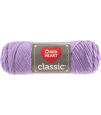 Red Heart Classic Yarn-Lavender Multipack of 12