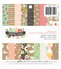 Pebbles Spring Fling 36 Pack 6\u0027\u0027x6\u0027\u0027 Single-Sided Paper Pad