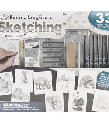 Royal & Langnickel Sketching Made Easy Activity Set