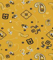 "University of Missouri Tigers Cotton Fabric 44""-Bandana, , hi-res"