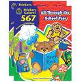 Teacher Created Resources All Through the School Year Sticker Book 2pk