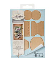 Spellbinders Shapeabilities 5 Pack Etched Dies-Tab Set 1, , hi-res