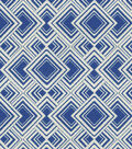 HGTV Home Upholstery Fabric-Diamond Reps/Cobalt