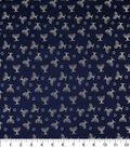 Brocade Fabric-Hanukkah