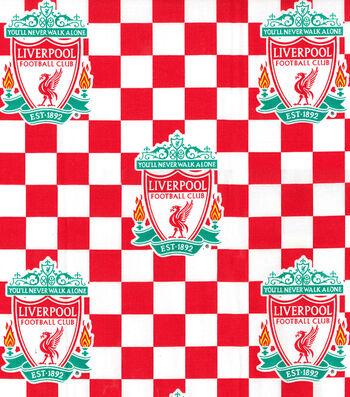 Liverpool Football Club Cotton Fabric 44''