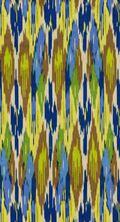 Home Decor 8\u0022x8\u0022 Fabric Swatch-IMAN Painted Pavilion Lapis