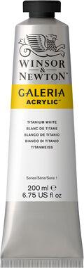 Winsor & Newton 6.75 fl. oz. Galeria Acrylic Tube-Titanium White