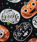 Halloween Cotton Fabric -Spooky Pumpkins