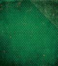 BoBunny Double Dot Vintage Double-Sided Cardstock 12\u0022X12\u0022-Evergreen