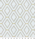 Home Decor 8\u0022x8\u0022 Fabric Swatch-Waverly Diamond Duo Pewter
