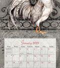 2019 Wall Calendar Proud Rooster