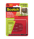 Scotch Signs & Number Mounting Strips