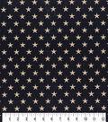 Patriotic Cotton Fabric 43\u0027\u0027-Rustic Stars on Blue