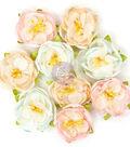 Prima Marketing Love Story 9 pk 1.5\u0027\u0027 Fabric Flowers-Lille